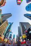 Times Square w Nowy Jork Fotografia Royalty Free
