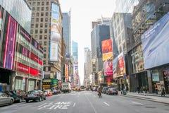 Times Squaregenomskärning Royaltyfria Foton