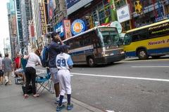 Times- Squaretageszeit Stockbild