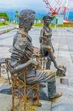 Timespending in Batumi Stock Images