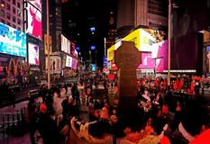 TimesSquare royalty free stock images