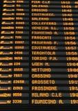 timetable Imagens de Stock