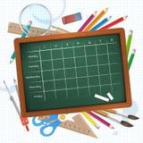 Timetable  illustration Stock Photo