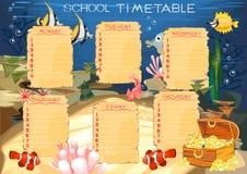 Timetable Royalty Free Stock Photo