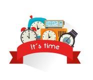 Timewatch design Stock Image