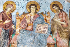 Free Timeworn Frescoes Of Saints Stock Images - 73382474