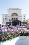 Timfloralis - das Blumen-Festival, Timisoara, Rumänien Stockfotografie