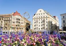 Timfloralis - das Blumen-Festival, Timisoara, Rumänien Lizenzfreies Stockbild