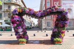 Timfloralis - das Blumen-Festival, Timisoara, Rumänien Stockfoto