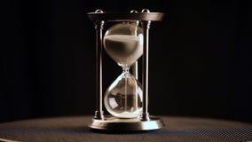timglas klocka Exponeringsglas arkivfilmer
