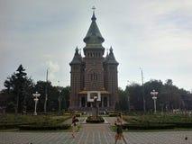 TimiÈ™oara Orthodox Cathedral stock photo