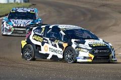 Timi Timerzyanov Barcelona FIA świat Rallycross Fotografia Royalty Free
