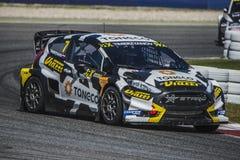 Timi Timerzyanov Barcelona FIA świat Rallycross Obraz Stock