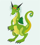 Timid dragon girl. Stock Photography