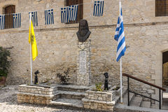 Timios Stavros monaster Omodos Cypr Obraz Stock