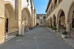 Ortodox kloster på Cypern Royaltyfri Fotografi