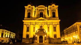 Timisoara τή νύχτα 3 Στοκ εικόνες με δικαίωμα ελεύθερης χρήσης