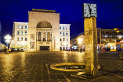 Timisoara оперы bulding Стоковое Изображение RF