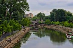 TIMISOARA - Bega Canal Stock Image