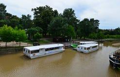 Timisoara Bega river transportation Royalty Free Stock Photo
