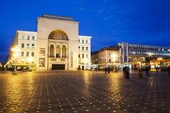 Timisoara bulding de la ópera Imágenes de archivo libres de regalías