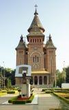 Timisoara cathedral royalty free stock photo