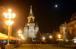 Timisoara Cathedral Stock Photography
