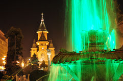 Timisoara cathedral Royalty Free Stock Photos