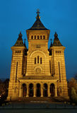 Timisoara City Cathedral Stock Images