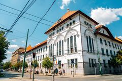 Free Timisoara City Hall Building In Timisoara, Romania Stock Image - 175576641