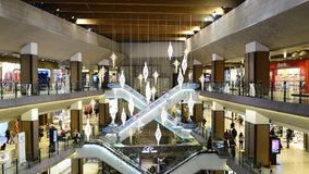 Timisoara city mall stock video