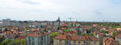 Timisoara city panorama Stock Images