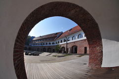 Timisoara fortres Arkivbild
