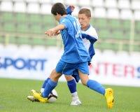 Timisoara - granicar youth soccer game Stock Image