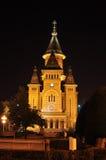 Timisoara-Kathedrale Stockbild