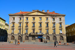Timisoara liberty square building Stock Photo