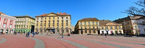 Timisoara liberty square panorama Stock Photos