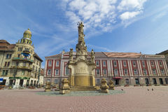 Timisoara the  Liberty Square Royalty Free Stock Photos