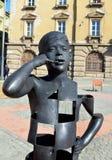 Timisoara liberty square statue Stock Photography