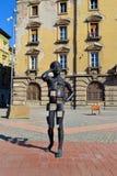 Timisoara liberty square statue Royalty Free Stock Images