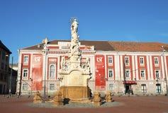 Timisoara liberty square statue Stock Images
