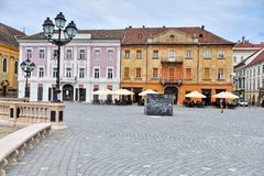 Timisoara old town Stock Photography