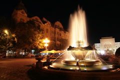 Timisoara Opera Square, Romania Royalty Free Stock Images