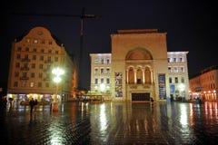 Timisoara Opera Square, Romania Stock Photo