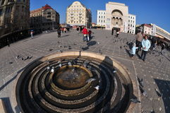 Timisoara Opera Square, Romania Stock Photo