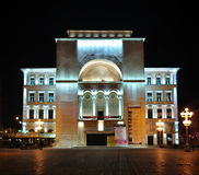 Timisoara operahus Arkivbilder