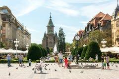 The Timisoara Orthodox Cathedral Royalty Free Stock Photo
