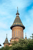 Timisoara ortodoksa katedra Fotografia Royalty Free