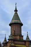 Timisoara ortodoksa katedra Obraz Royalty Free