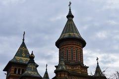 Timisoara ortodoxdomkyrka Royaltyfria Bilder